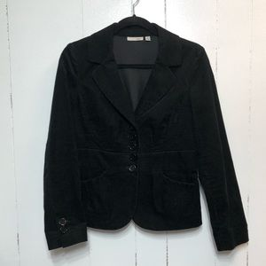 Halogen Black Corduroy Blazer Jacket